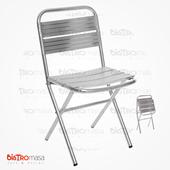 Bodrum Sandalye Aluminyum