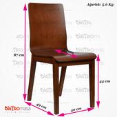 Ekol Ahşap Sandalye Ölçüleri