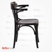 Kollu Thonet Sandalye Yan Görünüm