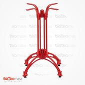 Selen Aluminyum Ayak Modeli Kırmızı Renk