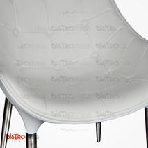 Efe Sandalye Beyaz Renk Yakın Çekim