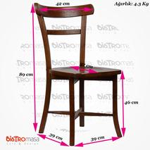 Fugo Ahşap Sandalye Ölçüleri