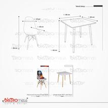 Lucca Mutfak Masa Sandalye Takimi Ölçüleri