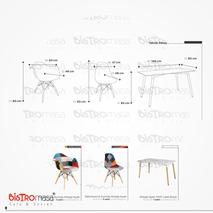 Lukka Mutfak Masa Sandalye Takimi Ölçüleri