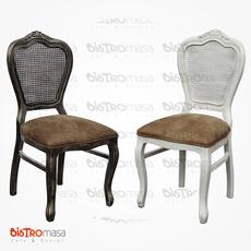 Antik Ahşap Sandalye Renk Seçenekleri