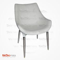 Efe Sandalye Beyaz Renk