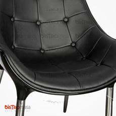 Efe Sandalye Siyah Renk Yakın Çekim