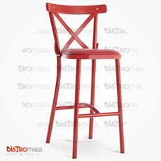 Grace Çıtalı Bar Sandalyesi