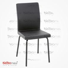 Can Metal Boyalı Cafe Sandalyesi