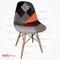 Eames Sandalye Patchwork - Kolsuz