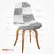 Eames Sandalye Patchwork Gold - Kolsuz